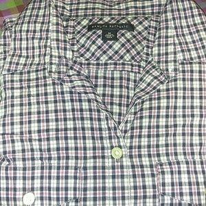 Comfy, plaid button down shirt